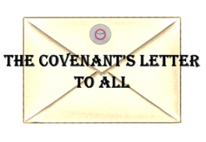 Rita Anne Laframboise Covenant - The Covenant Letter