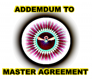 Addemdum To Master Agreement - Rita Anne Laframboise Covenant