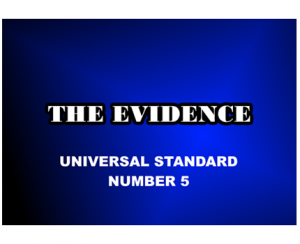 Best Kept Secret In Financial World - Universal Standard 5